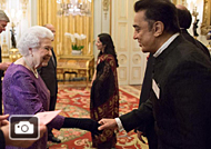 Kamal Haasan Meets The Queen