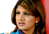 Rambha clarifies the truth about her marriage life