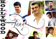 Kollywood Superstars in Love - Valentine's Day Special