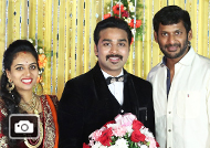 Actor Mithun Wedding Reception