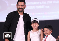 MSD at 'Dhoni' Movie Press Meet