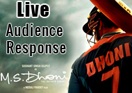 'M.S. Dhoni: The Untold Story' Live Audience Response