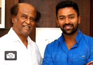 'Mupparimanam' Team Meets Rajinikanth