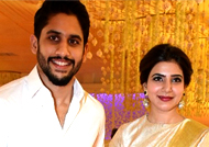 Samantha and Naga Chaitanya attend a wedding together