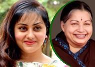 Namitha writes a letter to Tamil Nadu CM Jayalalitha