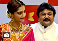 Sonama Kapoor at Kalyan Jewellers Store Launch