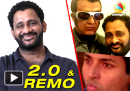 Resul Pookutty Interview on Sivakarthikeyans Remo and Rajinis 20