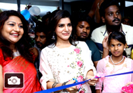 Samantha at Vcare Hair Clinic's 32nd Branch Inauguration at Madurai