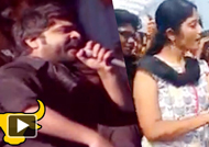 Simbu's Emotional Speech In Marina