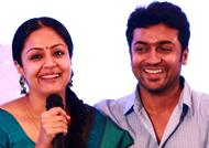 Suriya and Jyothika get a positive result