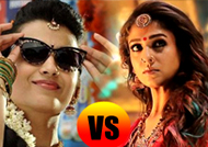 Nayanthara vs Trisha - Scorching battle for supremacy