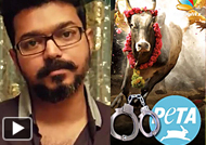 Vijays Sarcastic Remark Against PETA