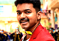 Who is the Music director of 'Vijay 61'?