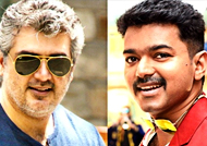 When Vijay praised Ajith's dialogues during 'Bairavaa'