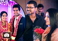 Vijay attends Jothiram Pavithra Engagement