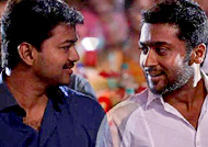 Suriya's touching acceptance on behalf of Ilayathalapathy Vijay