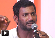 Vishal's clarification about Ajith issue and Simbu resignation