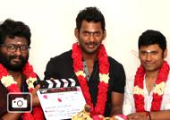 Vishal New Movie Pooja Stills