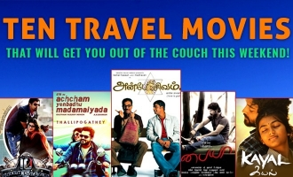 Ten travel movies that will get you out of the couch this weekend!