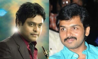 Harris Jayaraj combines with Karthi for the first time