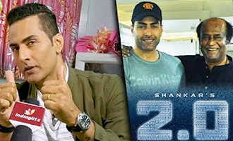 Rajinikanth is God in Human form : 2.0 Villain Sudhanshu Pandey Interview