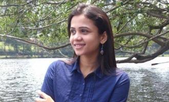 VJ Manimegalai reacts to anchors who trolled Suriya