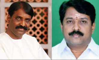 Former minister announces 10 crore to cut Vairamuthu's tongue