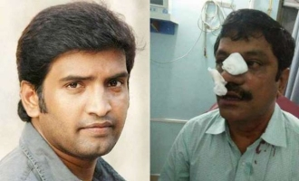Lawyer beaten up by Santhanam sexually harasses 9 year old girl in train