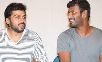 Karthi and Vishal confirm unity