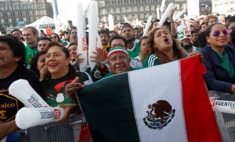 The FIFA effect: Mexico's win over Germany causes an earthquake!