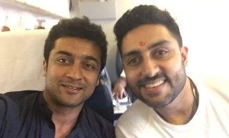 Suriya accepts Abhishek Bachchan's friendly invitation!