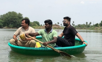 Simbu's sudden visit for Cauvery