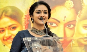 Keerthy Suresh gets a special felicitation from Chief Minister