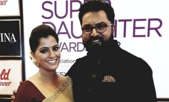 How Varalaxmi became a 'super daughter' to Sarathkumar!