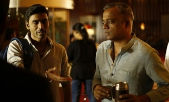 Gautham Menon gives a scorching hot update on Dhanush's 'ENPT'