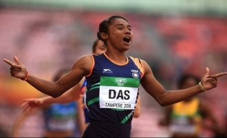 Historic! Hima Das wins first international track gold medal for India, video