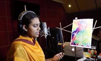 M.S.Subbulakshmi's great-granddaughter makes her singing debut