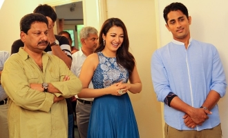 Siddharth and Catherine Tresa pair up for a new movie