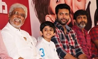 Jayam Ravi Son Aarav's Birthday Celebration in Tik Tik Tik Movie Success Meet
