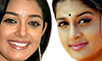 Chaya Singh IN and Meera Jasmine OUT
