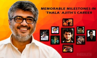 Memorable Milestones in 'Thala' Ajith's career