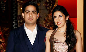 Celebs attend Akash Ambani and Shloka Mehta's engagement