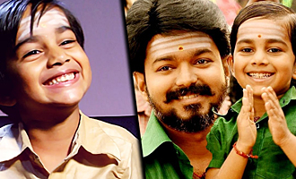 I'm a HERO but I dont have a HEROINE : Mersal Child Actor Aksath