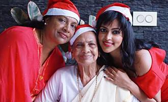 Amala Paul Celebrates Christmas with Family