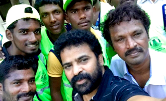 Cheran and Ameer clean the streets...!!!