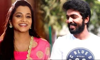 'Enga Veettu Maappilai' Aparnithi starts romance with G.V. Prakash