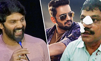 Santhanam proved he's an ACTION hero recently : Arya Speech