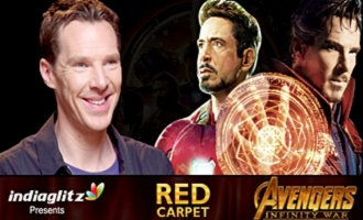 Iron Man Knocks Out Dr. Strange? - Benedict Cumberbatch Interview