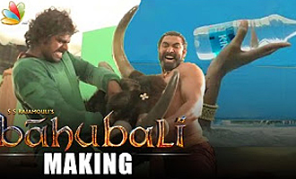 Baahubali VFX breakdown : Behind the Scenes
