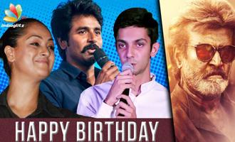 Celebs wish Rajinikanth Happy Birthday!